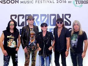 Scorpions sẽ hát Wind of change tại Monsoon 2016