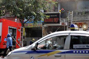 Nguyên nhân vụ cháy phòng tranh ngay dưới nhà nghệ sỹ Chiều Xuân