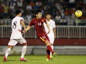 Xuân Trường lần thứ hai đá chính tại K.League