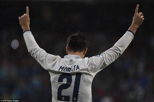 Alvaro Morata tỏa sáng, Real Madrid nhọc nhằn trở lại ngôi đầu