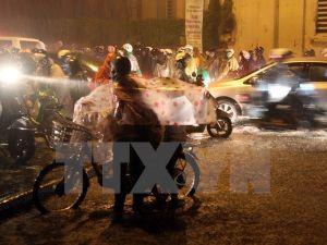 Thủ đô Hà Nội và Đông Bắc Bộ có mưa vài nơi trong đêm 24/10