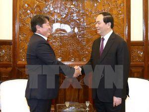 Chủ tịch nước: Tiếp tục thúc đẩy quan hệ hai nước Việt Nam-Mông Cổ