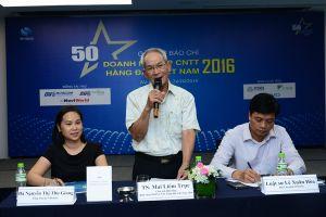"""Công bố danh sách """"50 Doanh nghiệp CNTT hàng đầu Việt Nam 2016"""""""