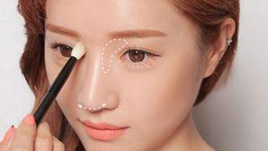 Chỉ vài thủ thuật make up đơn giản, biến mũi thấp thành mũi cao trong nháy mắt!
