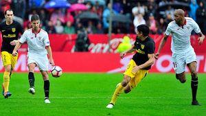 Thắng Atletico 1 - 0, Sevilla leo lên ngôi đầu BXH