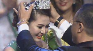 Ngọc Duyên đăng quang 'Nữ hoàng sắc đẹp toàn cầu' 2016