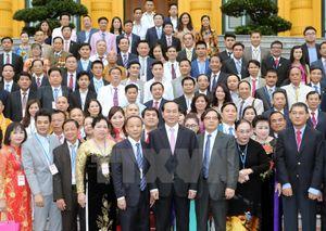 Chủ tịch nước: Doanh nghiệp Việt không được để thua ngay tại 'sân nhà'