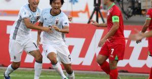 Clip U19 Nhật Bản 'vùi dập' U19 Tajikistan