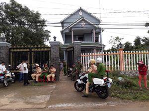 Hiện trường vụ vợ con Trưởng ban Dân vận huyện ủy bị giết hại