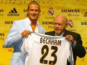 David Beckham từ chối theo bước Roberto Carlos ở Real Madrid