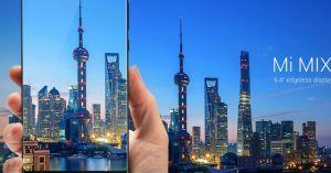 Xiaomi Mi Mix trình diện: Smartphone không viền màn hình