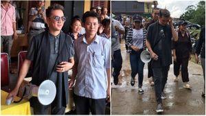 Mr Đàm đội mưa tặng quà từ thiện, bức xúc đáp trả anti-fan khi bị tố 'làm màu'