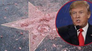 Ngôi sao của Donald Trump bị phá nát trong ngày sinh nhật của bà Clinton