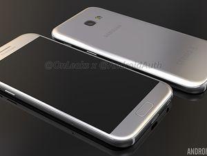 Smartphone Galaxy A5 phiên bản 2017 lộ ảnh, video chính thức