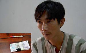 Gã nghiện dùng kim tiêm trấn lột hơn 300 tài xế