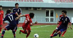 Clip: U19 Việt Nam khiến U19 Nhật Bản 'vã mồ hôi' ở VCK châu Á 2014