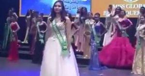 Chết cười với màn catwalk như 'ma nữ' ở cuộc thi Nữ hoàng sắc đẹp