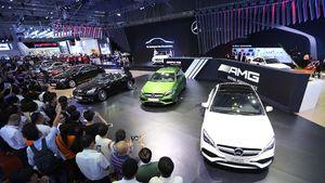 Toàn cảnh các mẫu xe Mercedes Benz hấp dẫn nhất VIMS 2016
