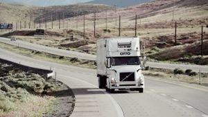 Xe chở bia không người lái ở Mỹ