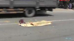 Container tông chết nữ sinh ngay trước cửa CA phường