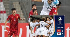 Toàn cảnh trận thua của U19 Việt Nam trước U19 Nhật Bản