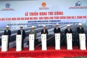 Triển khai xây dựng cầu cạn đoạn Mai Dịch - cầu Thăng Long