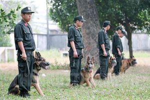 Đầu năm Tuất thăm nơi huấn luyện chó nghiệp vụ