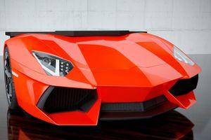 Bàn làm việc kiểu siêu xe Lamborghini độc và siêu đắt