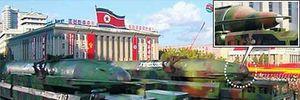 Triều Tiên công bố các vũ khí khủng mới