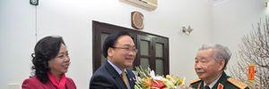 Bí thư Thành ủy Hoàng Trung Hải thăm, chúc Tết các đồng chí nguyên lãnh đạo Thành phố Hà Nội