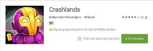 Siêu phẩm sinh tồn Crashlands đã đến tay các game thủ Android