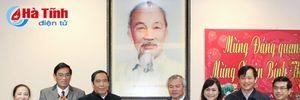 Phó Ban Tổ chức Trung ương Nguyễn Thanh Bình chúc Tết lãnh đạo tỉnh