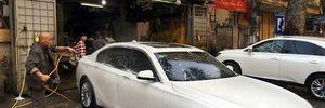 Giá rửa xe tăng chóng mặt những ngày giáp Tết Bính Thân