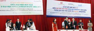 Du học - 'Điểm sáng' trong Đào tạo ở Đại học Duy Tân