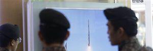Mảnh vỡ tên lửa Triều Tiên bay qua lãnh thổ Nhật Bản