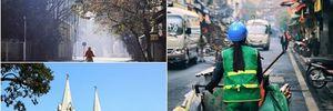 Ngắm Hà Nội - Sài Gòn sáng mùng 1 Tết Bính Thân 2016