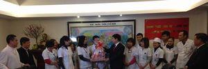 Công đoàn Xây dựng Việt Nam chúc tết Bệnh viện Xây dựng