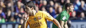 Barca đá không hay nhưng vẫn đẳng cấp hơn Levante trong việc ghi bàn