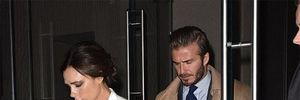 Vợ chồng Beckham tay trong tay thắm thiết trên phố