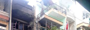 Cháy nhà tại TP HCM, 3 người nhập viện