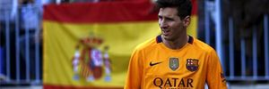 Messi nghỉ tập để kiểm tra thận