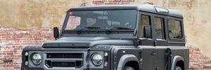 Đầu năm Kahn ra bản độ Land Rover Defender mang tên 'Cuối cùng'