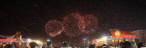 """Triều Tiên bắn pháo hoa mừng phóng """"vệ tinh"""" thành công"""