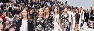 Burberry cải tổ ở tuần lễ thời trang London