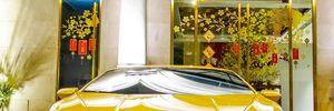 Siêu xe Huracan của đại gia địa ốc trên phố Sài Gòn
