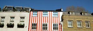 Những ngôi nhà với kiểu sơn ngoại thất khác lạ