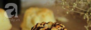Khai lò đầu năm với món bánh bông lan vị ngô thơm nức