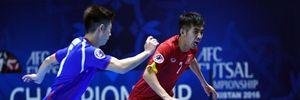 Futsal Việt Nam ngược dòng đánh bại Đài Loan tại VCK Futsal châu Á
