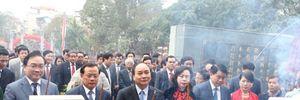 Phó Thủ tướng Nguyễn Xuân Phúc dự khai hội Gò Đống Đa, Hà Nội