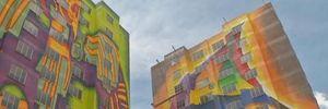 Họa sỹ Bolivia quyết phá kỷ lục Guiness với bức tranh tường đồ sộ
